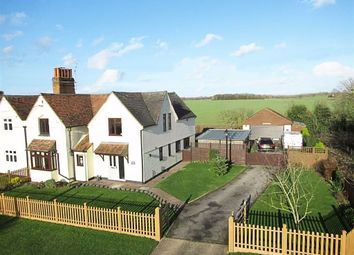 Thumbnail 4 bed semi-detached house for sale in The Street, Haultwick, Hertfordshire