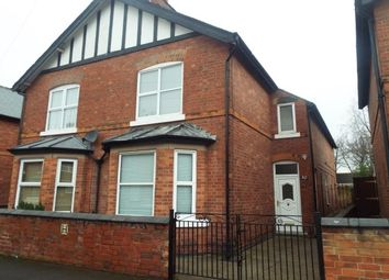 Thumbnail 3 bed semi-detached house to rent in Highbury Avenue, Bulwell, Nottingham