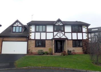 Thumbnail 5 bed detached house for sale in Henwick Hall Avenue, Ramsbottom, Bury