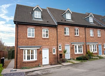 Thumbnail 4 bed town house for sale in The Evergreens, Nuneaton