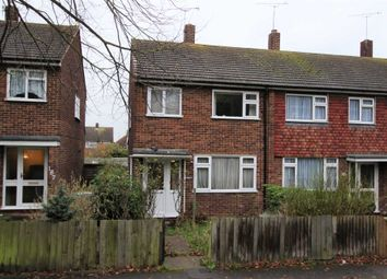 Thumbnail 3 bed semi-detached house for sale in Hall Road, Northfleet, Gravesend
