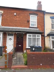 Thumbnail 3 bedroom terraced house for sale in Whitmore Road, Small Heath