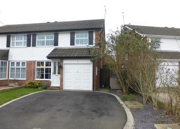 Thumbnail 3 bed semi-detached house for sale in Melling Close, Earley, Reading