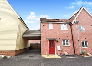 Thumbnail 2 bed semi-detached house for sale in Leaf Hill Drive, Romford