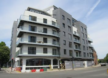 Thumbnail 1 bed flat for sale in Royal Crescent Road, Ocean Village, Southampton, Hampshire