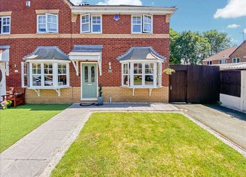 Thumbnail 3 bed semi-detached house for sale in Keats Close, Widnes