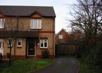 2 bed semi-detached house to rent in Chaffinch Drive, Cullompton, Devon EX15