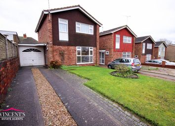 Thumbnail 3 bed detached house for sale in Claybrook Avenue, Leicester