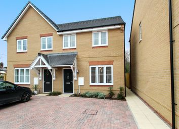 Thumbnail 3 bed semi-detached house for sale in Mariners Way, Trimley St Mary