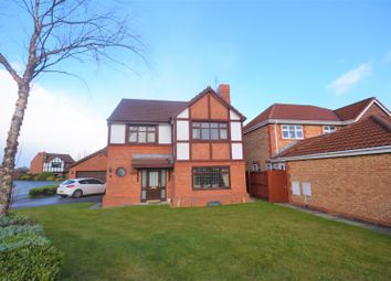 Thumbnail 4 bed detached house for sale in St. Mellion Crescent, Wrexham