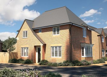 "Thumbnail 4 bedroom detached house for sale in ""The Rainham"" at Roman Road, Bobblestock, Hereford"