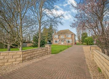 Thumbnail 4 bed detached house for sale in Great North Road, Stibbington, Peterborough