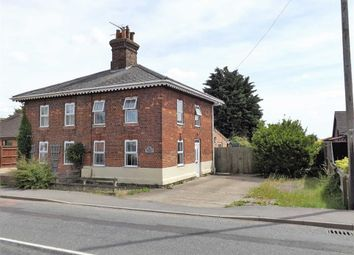 Thumbnail 2 bed semi-detached house to rent in Fen Road, Holbeach, Spalding