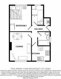 Thumbnail 2 bedroom flat for sale in Riverside Gardens, Wembley
