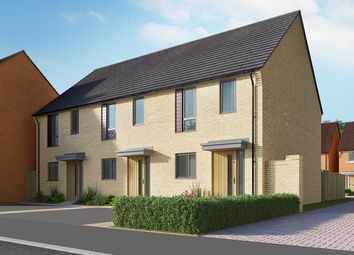 "Thumbnail 2 bed semi-detached house for sale in ""The Ashley v2"" at Heron Road, Northstowe, Cambridge"