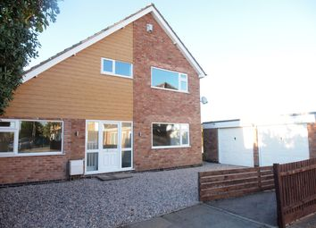 Thumbnail 4 bed detached house for sale in Kertley, Fleckney, Leicester