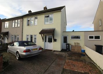 Thumbnail 3 bed semi-detached house for sale in Churchill Avenue, Clevedon