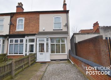 Thumbnail 2 bedroom end terrace house for sale in South Grove, Fentham Road, Aston, Birmingham