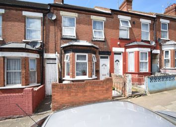 Thumbnail 3 bed terraced house for sale in Spencer Road, Luton