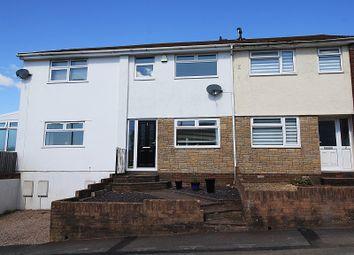 Thumbnail 2 bed terraced house for sale in Foel View Close, Llantwit Fardre, Pontypridd, Rhondda, Cynon, Taff.