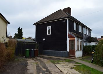 Thumbnail 3 bedroom semi-detached house to rent in Hunters Hall Road, Dagenham, Essex