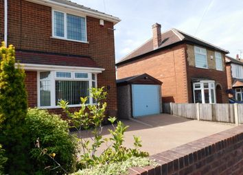 Thumbnail 2 bed semi-detached house for sale in Cromford Avenue, Mansfield
