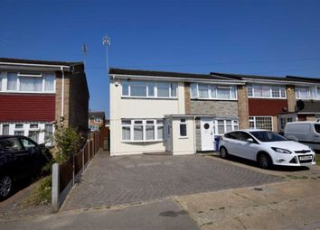 Thumbnail 3 bed end terrace house for sale in Queen Elizabeth Drive, Stanford Le Hope, Essex