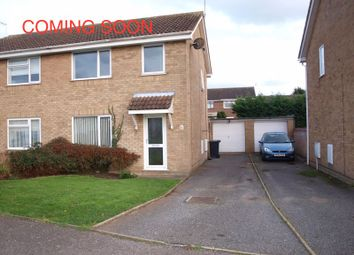 Thumbnail 3 bedroom semi-detached house to rent in Wash Lane, Kessingland, Lowestoft