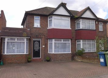 Thumbnail 4 bed semi-detached house for sale in Wetheral Drive, Stanmore, Middlesex