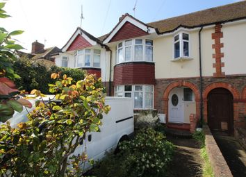 Thumbnail 3 bed terraced house for sale in Wallis Avenue, Eastbourne
