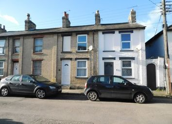 Thumbnail 2 bed terraced house for sale in Regent Street, Stowmarket