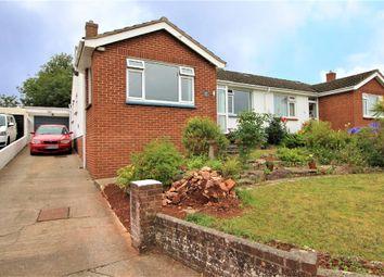 Thumbnail 3 bed semi-detached bungalow for sale in Little Park Road, Paignton