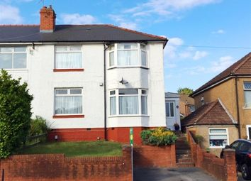 Thumbnail 3 bed semi-detached house for sale in Redlands Road, Penarth