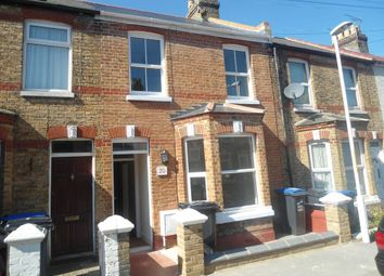 Thumbnail 2 bed terraced house to rent in Gladstone Road, Margate