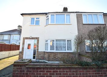 Thumbnail 3 bed semi-detached house for sale in Woodward Terrace, Greenhithe