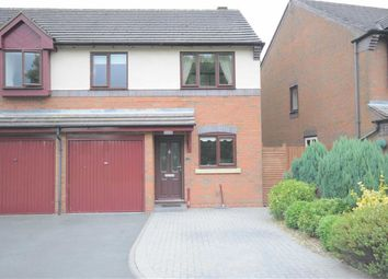 Thumbnail 3 bed semi-detached house to rent in Holyrood Close, Stone
