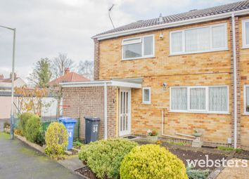 Thumbnail 3 bedroom end terrace house for sale in Bramfield Close, Norwich
