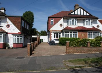 Thumbnail 4 bedroom semi-detached house for sale in Chadacre Road, Stoneleigh, Epsom