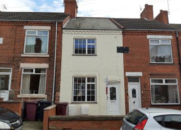 Thumbnail 2 bedroom terraced house for sale in Coronation Street, Whitwell, Worksop