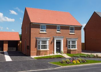 "Thumbnail 4 bed detached house for sale in ""Bradgate"" at Kensey Road, Mickleover, Derby"