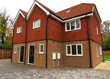 Thumbnail 4 bed semi-detached house for sale in Turners Hill Road, Crawley Down, Crawley