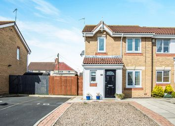 Thumbnail 3 bed semi-detached house for sale in Allonby Mews, Shankhouse, Cramlington