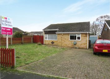 Thumbnail 3 bedroom detached bungalow for sale in Woodcutters Way, Lakenheath, Brandon