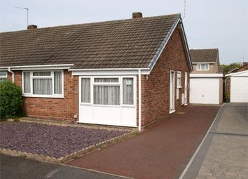 Thumbnail 2 bed semi-detached bungalow for sale in Harwood Avenue, Branston, Burton-On-Trent, Staffordshire