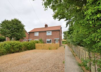 Thumbnail 3 bed semi-detached house to rent in Glandford Road, Cley, Holt