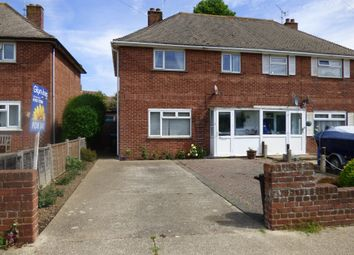 Thumbnail 2 bed semi-detached house for sale in Clun Road, Wick, Littlehampton