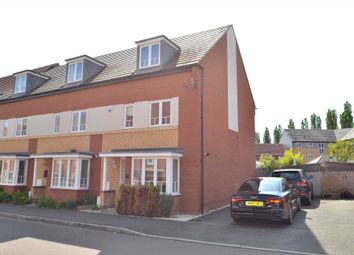 Thumbnail 4 bed end terrace house for sale in Sakura Walk, Willen Park, Milton Keynes