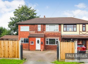 Thumbnail 4 bed semi-detached house for sale in Lawrence Road, Flixton