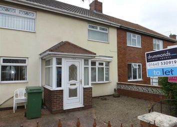 Thumbnail 3 bedroom terraced house to rent in Malvern Road, Billingham