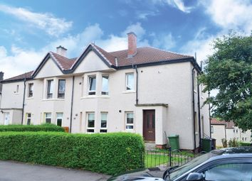 Thumbnail 3 bed flat for sale in Kinstone Avenue, Glasgow